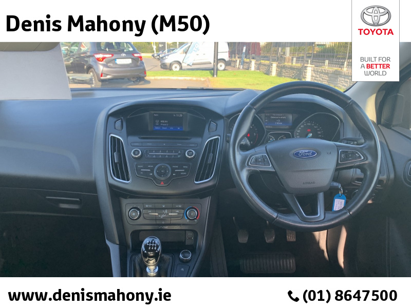 FORD FOCUS STYLE 4DR 1.5 TD 95PS 6SPEED