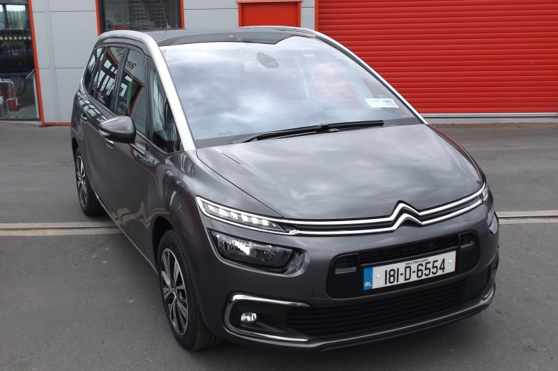 2018 Citroen C4 Picasso GRAND PICASSO FEEL BLUEHDI 4DR AUTO €28,950