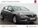 2017 Opel Astra ASTRA 1.6CDTI 110PS 5DR €16,450
