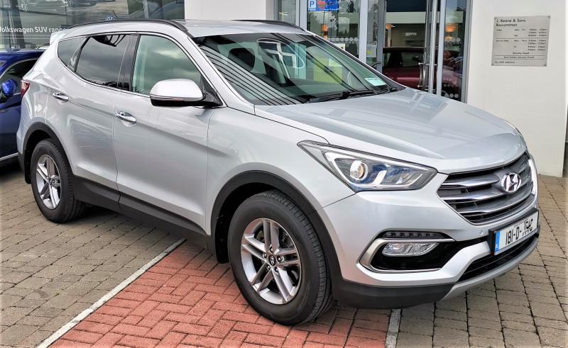Used Hyundai Santa Fe 2018 in Roscommon