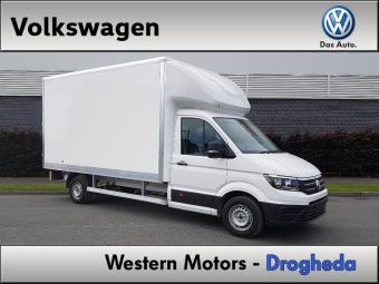 Volkswagen Crafter BOX BODY 3.5T CAR LICENCE