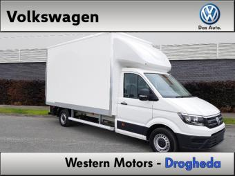 Volkswagen Crafter 14 FOOT BOX BODY WITH TAIL LIFT