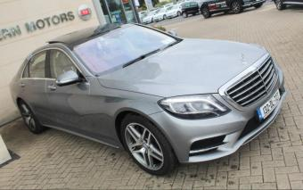 Mercedes-Benz S-Class S500 AMG LINE LWB 4DR AUTO, = NEW MODEL = AMG = PANORAMIC ROOF