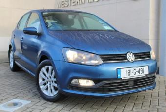 Volkswagen Polo TL 1.0 60HP M5F 5DR, ALLOYS, BLUETOOTH, VERY LOW KMS, WARRANTY