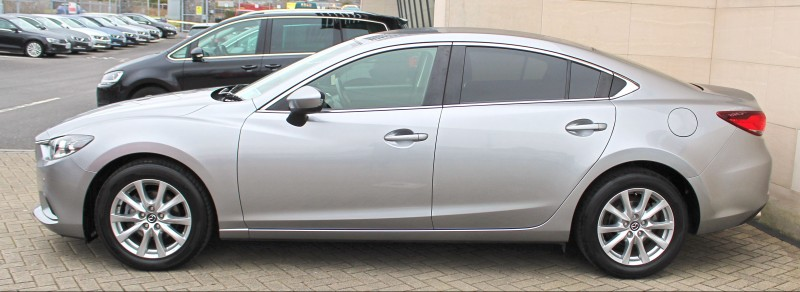 Mazda 6 2.2D (150PS) SPORT 4DR AUTO, CLIMATE CONTROL, CRUISE CONTROL