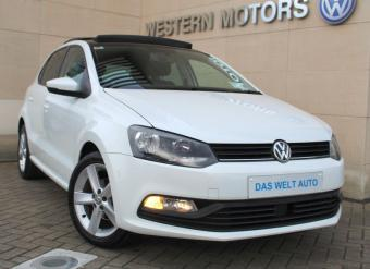"""Volkswagen Polo FUN 1.0 60HP M5F 5DR, PANORAMIC ROOF, PRIVACY GLASS, 16"""" ALLOY WHEELS"""