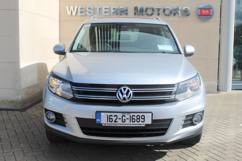 Volkswagen Tiguan SPORT&STYLE 2.0TDI=LOW KM=V. HIGH SPEC=LEATHER