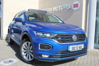 Volkswagen T-Roc 1.0TSI R-LINE=PETROL=LOW KIMS=HIGH SPEC=