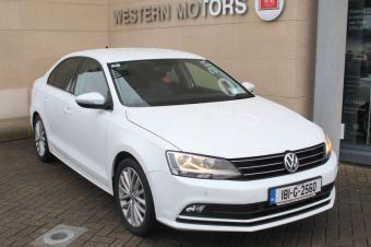 Volkswagen Jetta HIGHLINE 2.0TDI 110BHP = FSH = SAT NAV