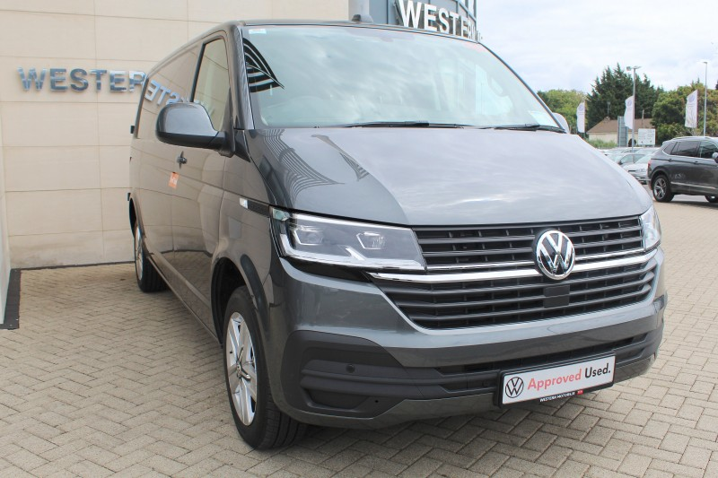Volkswagen Transporter T6.1 H/L, LWB 150HP, LED Lights, App-Connect, Folding Mirrors