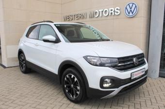 Volkswagen T-Cross PRE REG DISCOUNT, ONLY 1 AVAILABLE Life Spec, Tech Pk, Upgraded Alloys