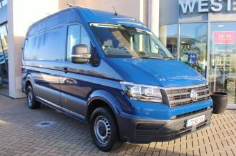 Volkswagen Crafter MWB, H/R, 140HP, Rear Camera, Rear Step