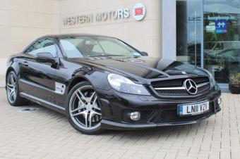 Mercedes-Benz SL-Class 63 AMG Pan Roof Full Service History