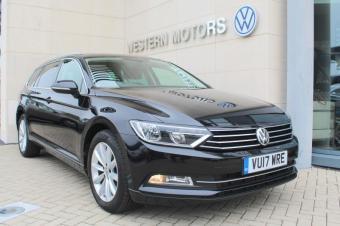 Volkswagen Passat Est SE Business TDi 150 DSG, Sat Nav, Bluetooth, Sensors