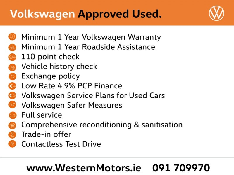 Volkswagen Polo High Spec 1.0 MATCH BMT 60PS 5DR