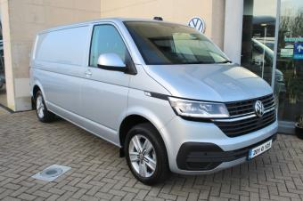 Volkswagen Transporter **JUST IN** HIGHLINE, 150HP, LWB, UPGRADED ALLOYS, PLYLINED, TOWBAR APP-CONNECT, AIRCON