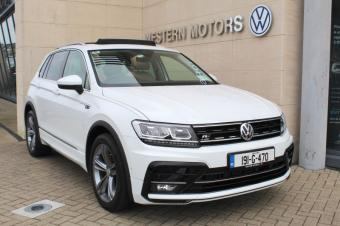 Volkswagen Tiguan Full R Line Auto + Beige Full Leather + Technology Upgrade Pack