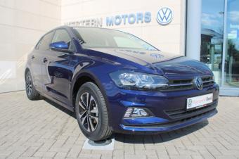 Volkswagen Polo Pre Reg Polo United No Km  Atlantic Blue Mettallic