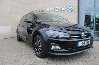 Volkswagen Polo Pre Reg No Km Polo United in Black Mettallic