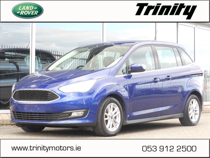2016 Ford Grand C-Max 1.5 TDCI Zetec 7 Seat ** €61 Per Week  ** Price €16,950