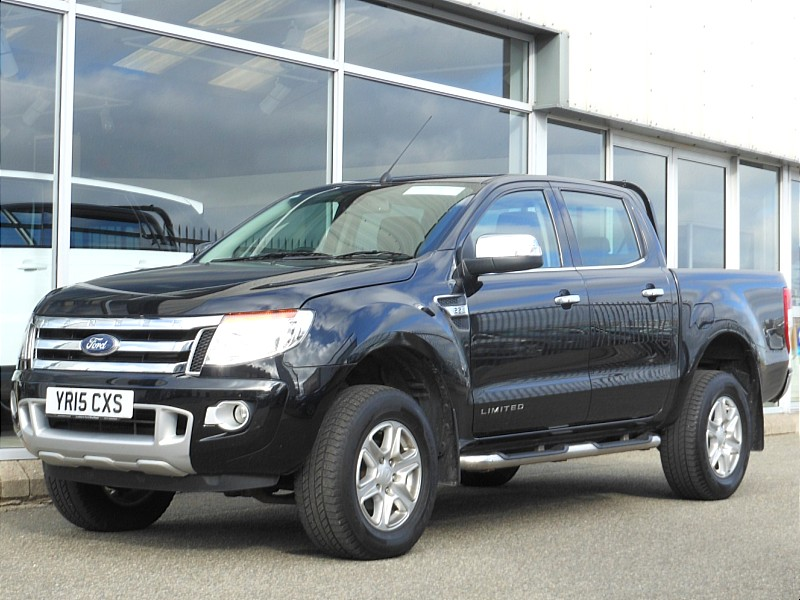 2015 Ford Ranger 2.2 TDCI LIMITED EDITION ** VAT INCLUSIVE ** TRINITY MOTORS THE LAND ROVER EXPERTS  Price €26,950