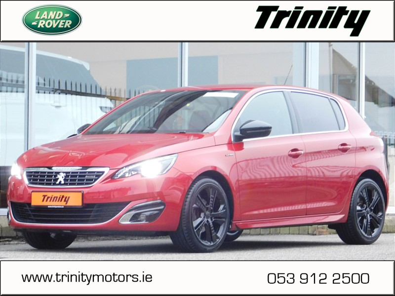 2015 Peugeot 308 1.6 HDI GT LINE ** TRINITYMOTORS.IE ** 2  YEAR WARRANTY ** HUGE SPECIFICATION ** SHOWROOM CONDITION ** FINANCE ARRANGED ** Price €16,950