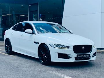 Jaguar XE **PRICED TO SELL***R-SPORT I4 2.0D 180HP AUTO**FUJI WHITE WITH BLACK PACK***LOW RATE FINANCE**
