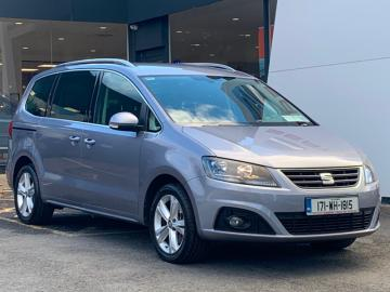 SEAT Alhambra **JUST ARRIVED**2.0TDI 150BHP SE MODEL***EXCELLENT CONDITION**12 MONTH WARRANTY**LOW RATE SEAT FINANCE**