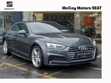 Audi A5 **A5 COUPE S LINE 2.0 TDI 190PS S-TRONIC**DAYTONA GREY PEARL**FULL AUDI HISTORY**LOW RATES OF FINANCE**