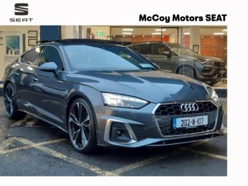 "Audi A5 **STUNNING SB 35 TDI 163BHP S LINE AUTO S-TRONIC**UPGRADED STYLE PACK WITH 20"" ALLOYS // SUNROOF // LIGHTING PACK** 202 REG **"