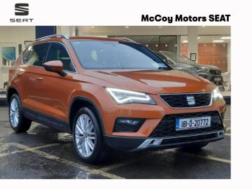 SEAT Ateca SOLD SOLD SOLD***TINY MILEAGE***1.6TDI 115HP XC***TOP SPEC***SAMOA ORANGE***1 OWNER FROM NEW***FINANCE FROM 3.9%***