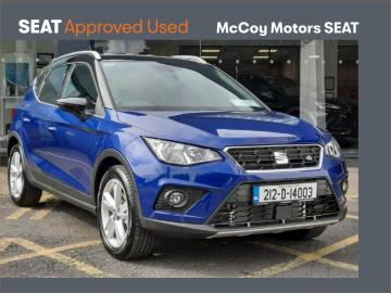 SEAT Arona **NOW AVAILABLE** 1.0TSI 110HP FR **SEAT WARRANTY UNTIL 7/24**LOW RATE FINANCE AVAILABLE**