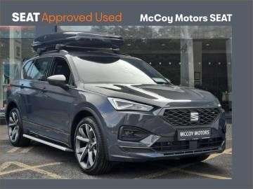 SEAT Tarraco **212 REG**FR 1.5TSI 150BHP 7 SEATER**3 YEAR WARRANTY**SERVICE PLAN FROM ++EURO++10PM**FINANCE FROM 3.9%***