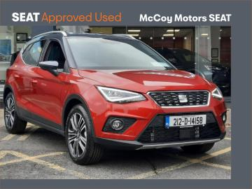 SEAT Arona **SOLD SOLD SOLD**DELIVERY MILEAGE**212 REG**1.0TSI 110HP XC PLUS**TOP SPEC**3 YEAR WARRANTY**SERVICE PLAN FROM ++EURO++10PM**
