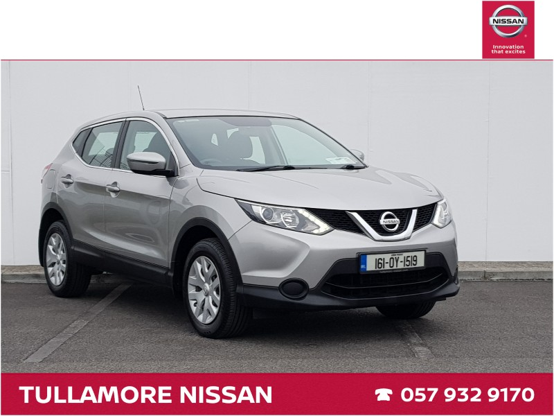 Used Nissan Qashqai 2016 in Offaly
