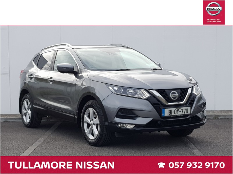 Used Nissan Qashqai 2018 in Offaly