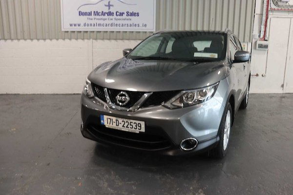 Used Nissan Qashqai 2017 in Louth