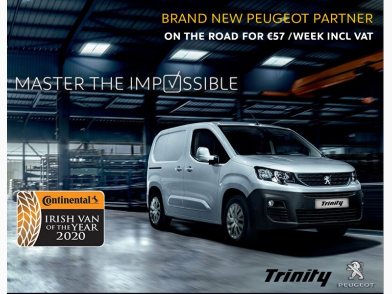 2020 Peugeot Partner 3 SEAT FROM €57 PER WEEK! ONLY FOR 202 ORDERS! Price €POA