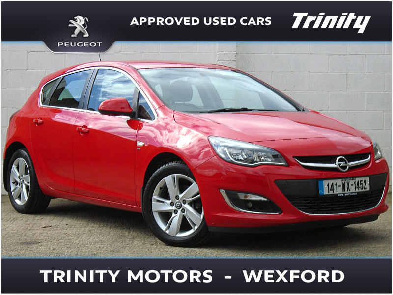 2014 Opel Astra SRI 1.7CDTI 110BHP ONE OWNER FSH Price €POA