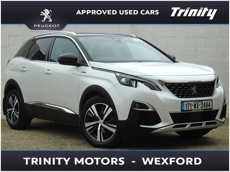 2017 peugeot 3008 used car wexford trinity group