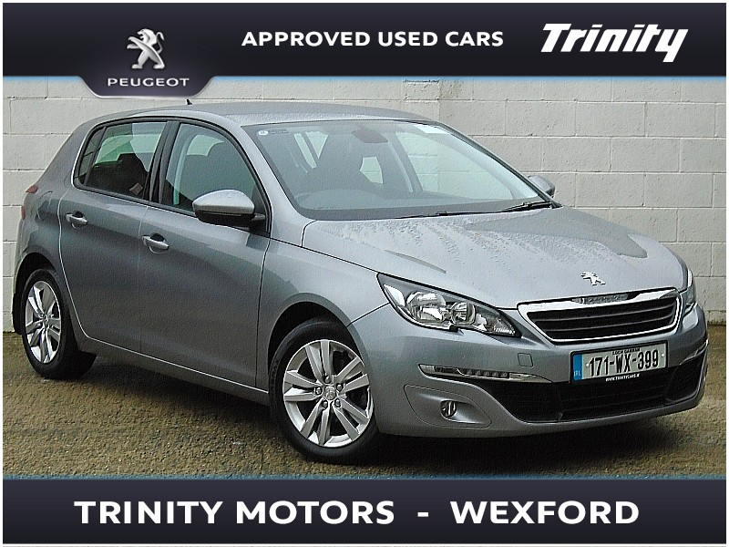 2017 Peugeot 308 ONE OWNER ACTIVE 1.6 BLUE HDI 100BHP Price €15,650