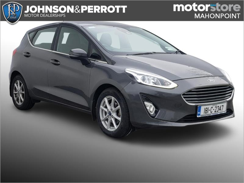 Ford Ford Fiesta (181) TITANIUM 1.1 85PS 5M 4D TOP SPEC TINY KMS (FULLY SANITISED)