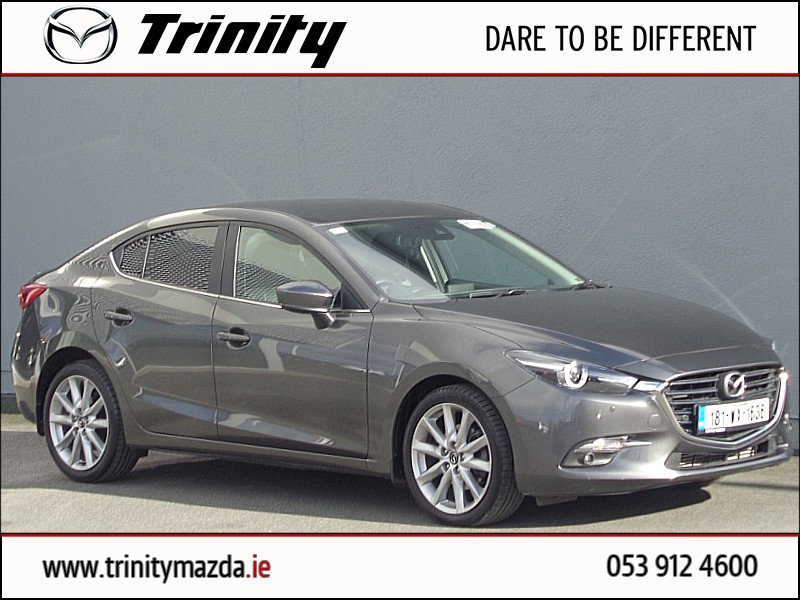 2018 Mazda 3 2.2D (150PS) PLATINUM 4DR Price €25,950