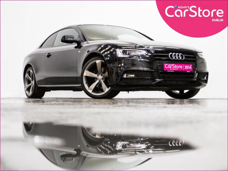 Used Cars 2014 Audi A5 S Line Black Edit Tdi Near Dublin 12 Kearys