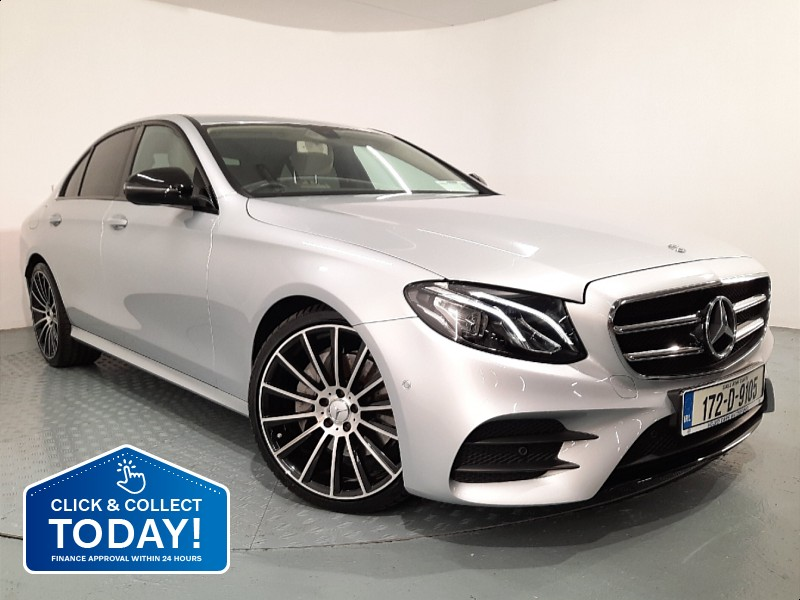 "Mercedes-Benz E-Class E220 D AMG EXTERIOR + AVANTGARDE *Night Package with 20"" Multi Spoke Alloys*"