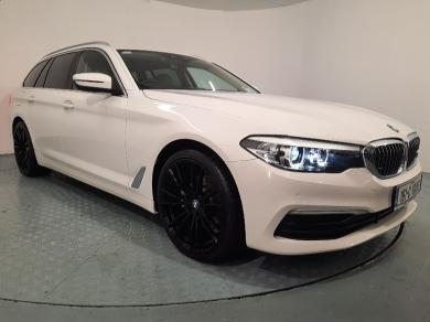 """BMW 5 Series 520D SE Touring Auto / Full Service History / 20"""" Alloys / Blonde Leather Upholstery /"""
