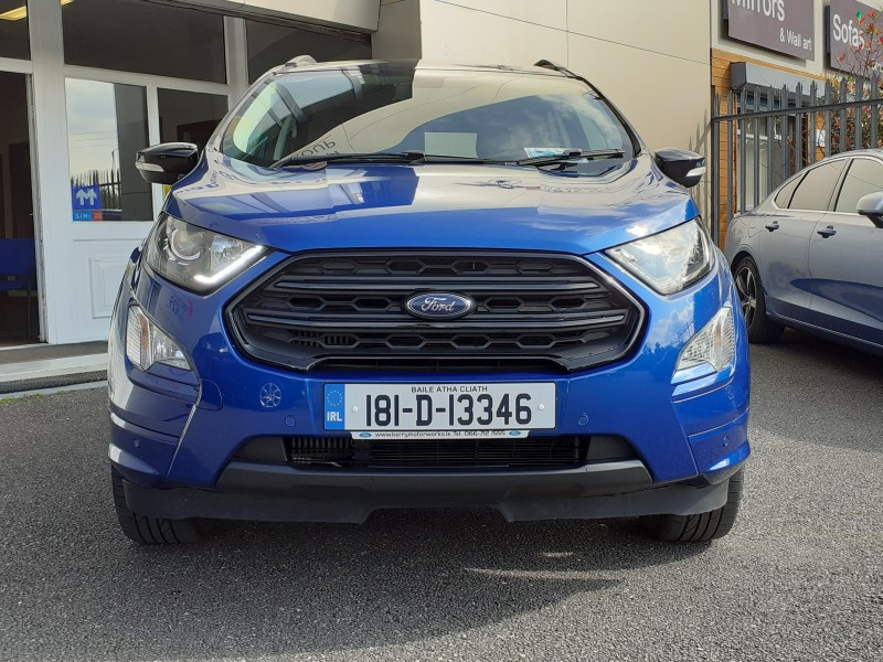 Ford EcoSport 1.0T (120ps) ST-LINE