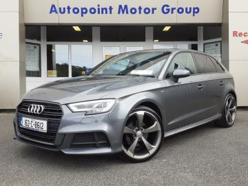 Audi A3 2.0 TDI (150bhp) S-LINE NAV ** FREE Nationwide Delivery - Reserve or BUY this Vehicle Online Today **